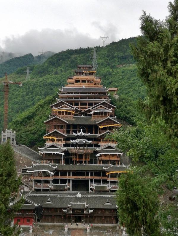 重庆苗族建筑素材图案