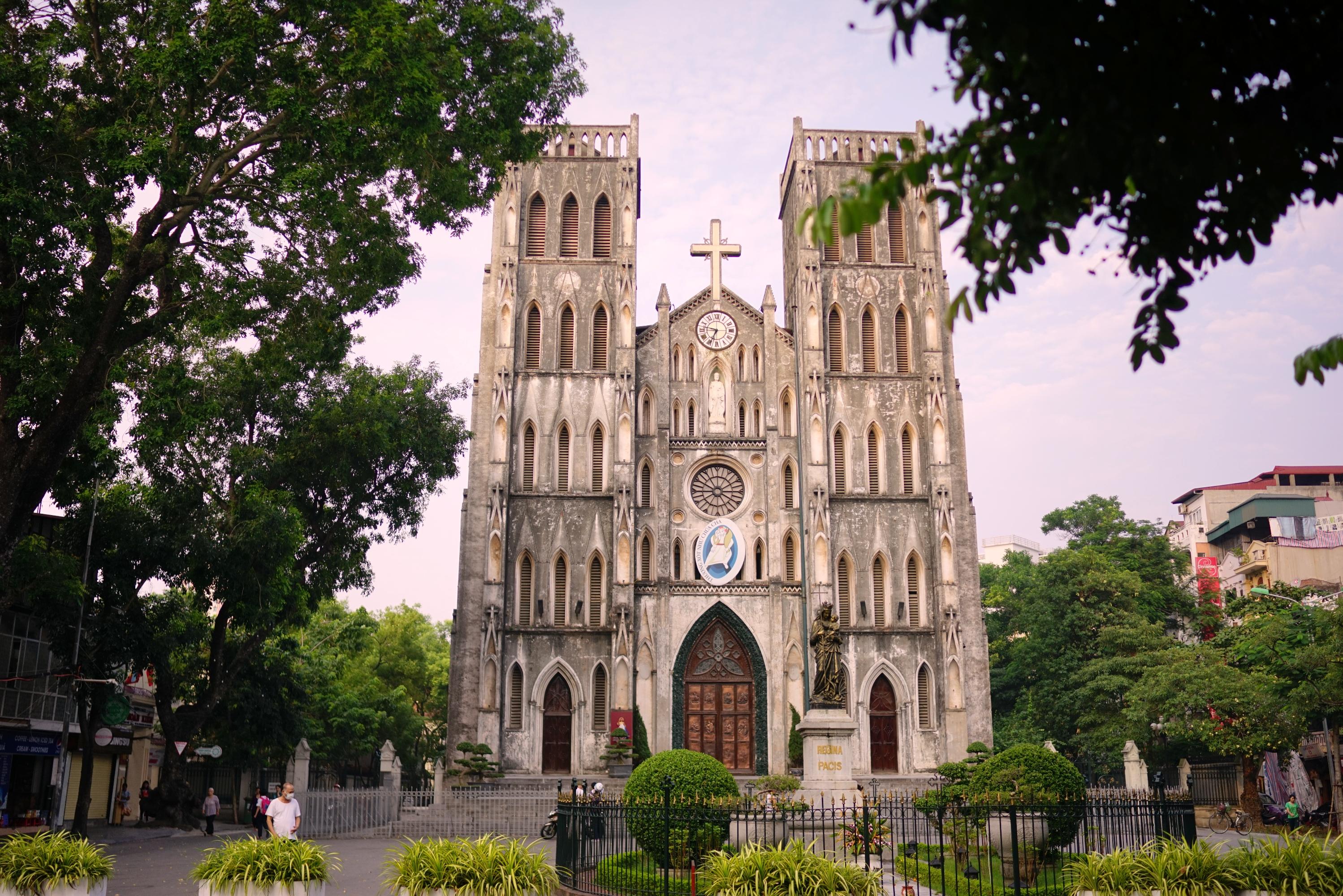 河内大教堂  Saint Joseph Cathedral   -4
