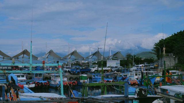 坐船去绿岛啦~ 台东富冈渔港