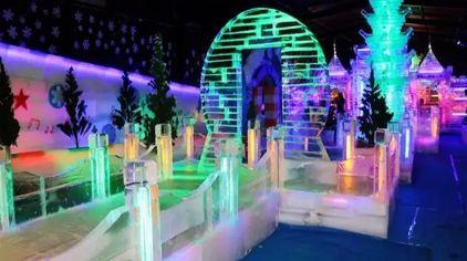 樟木头观音山冰雪世界主题乐园