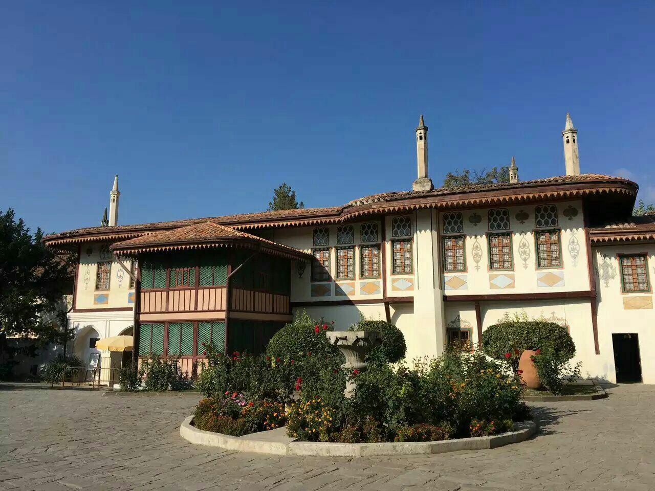 巴赫奇萨赖汗宫  Bakhchisaray Palace   -2