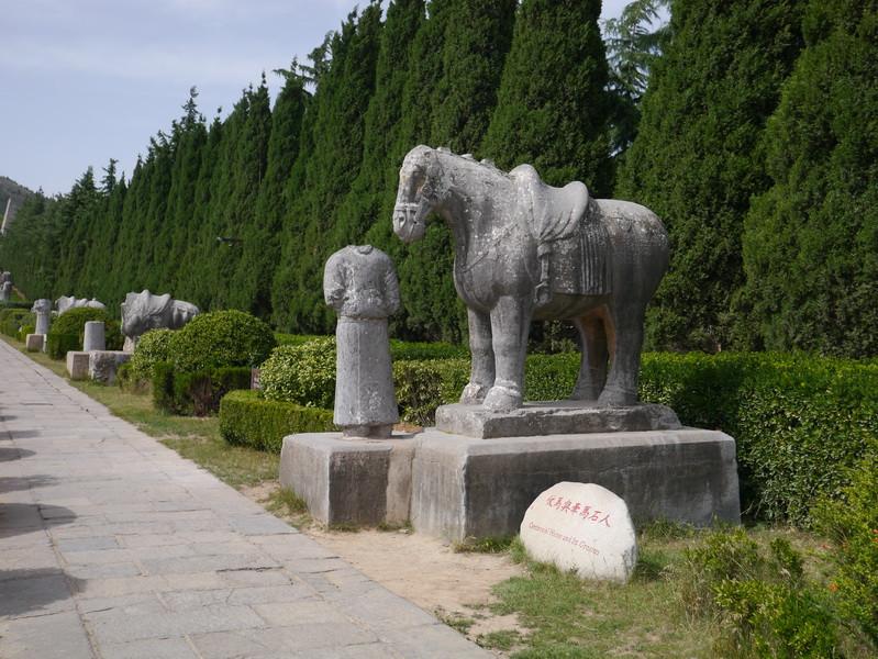 陵墓雕塑代表作