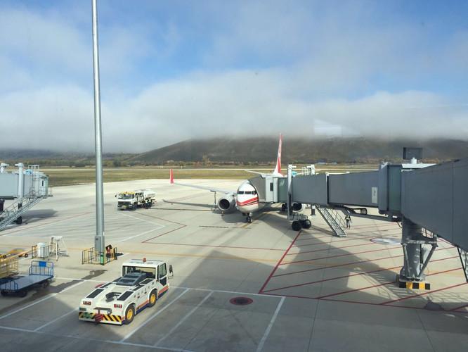 一早从北京南苑机场出发