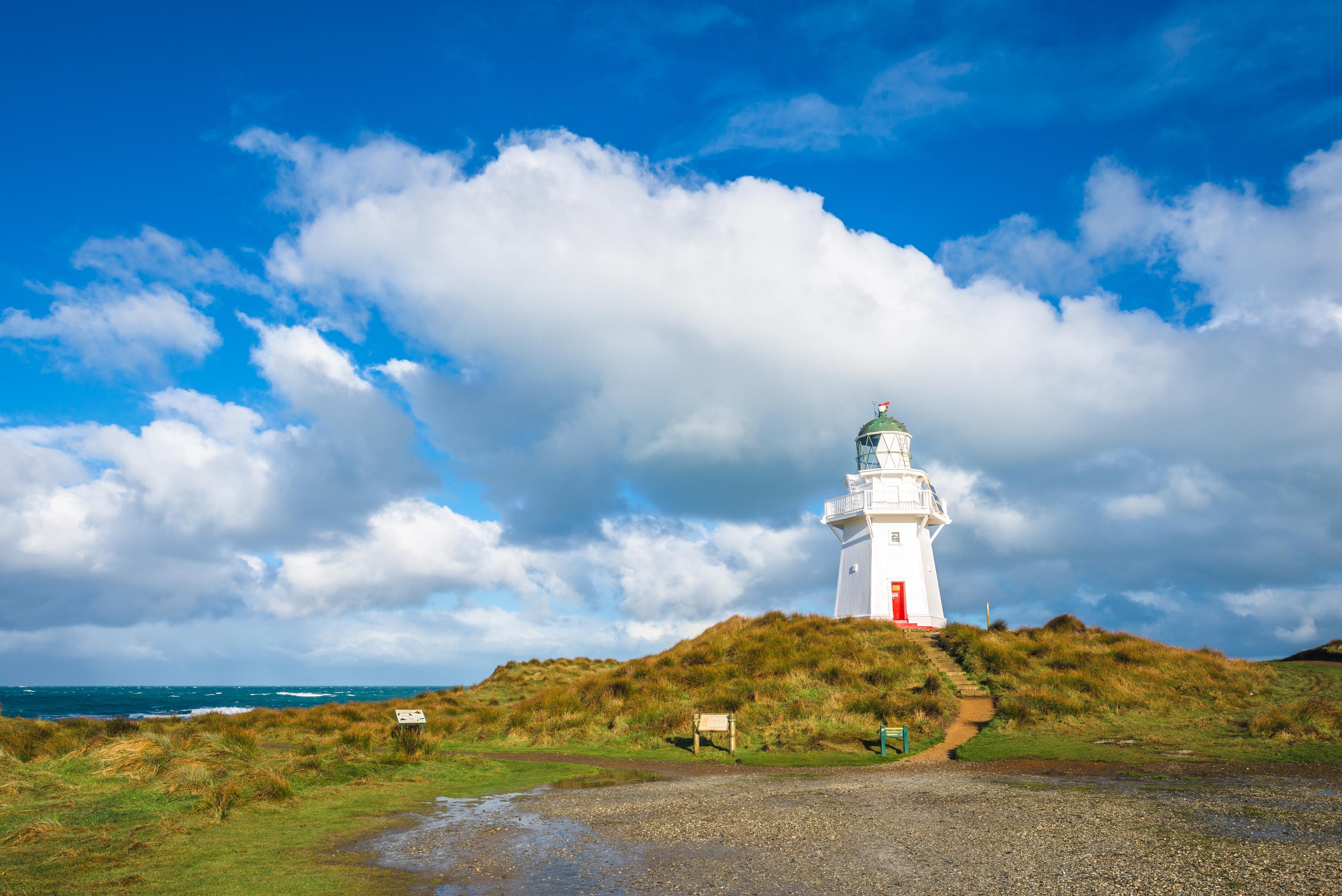 Waipapa Point Lighthouse  Waipapa Point Lighthouse   -1