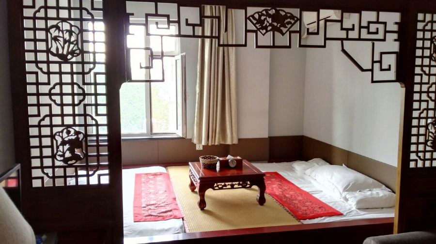 北京景区坊怡景菩萨1-3晚+可加购北京多古韵门绘制梦见的酒店画撕开了图片