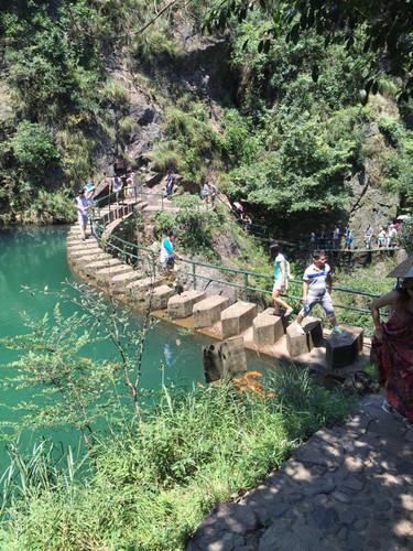 桐庐大溪峡漂流+大奇山两日自驾游君山岳阳岛一日游攻略图片