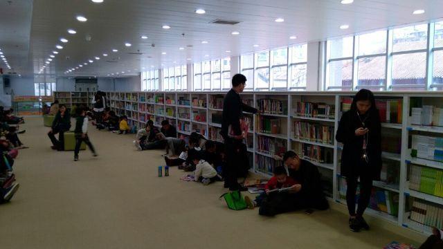 3分 (13条点评) 6 新广州少年儿童图书馆在中山四路42号,是在旧广州市