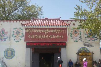 2016 少女 新款青海湖藏族民俗博物馆2016 黄美白瓷