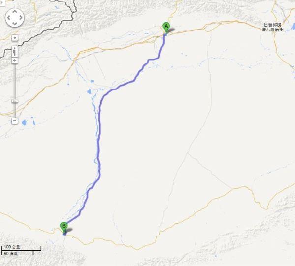塔克拉玛沙漠地图