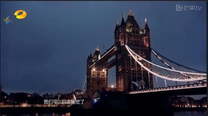 对著伦敦塔桥
