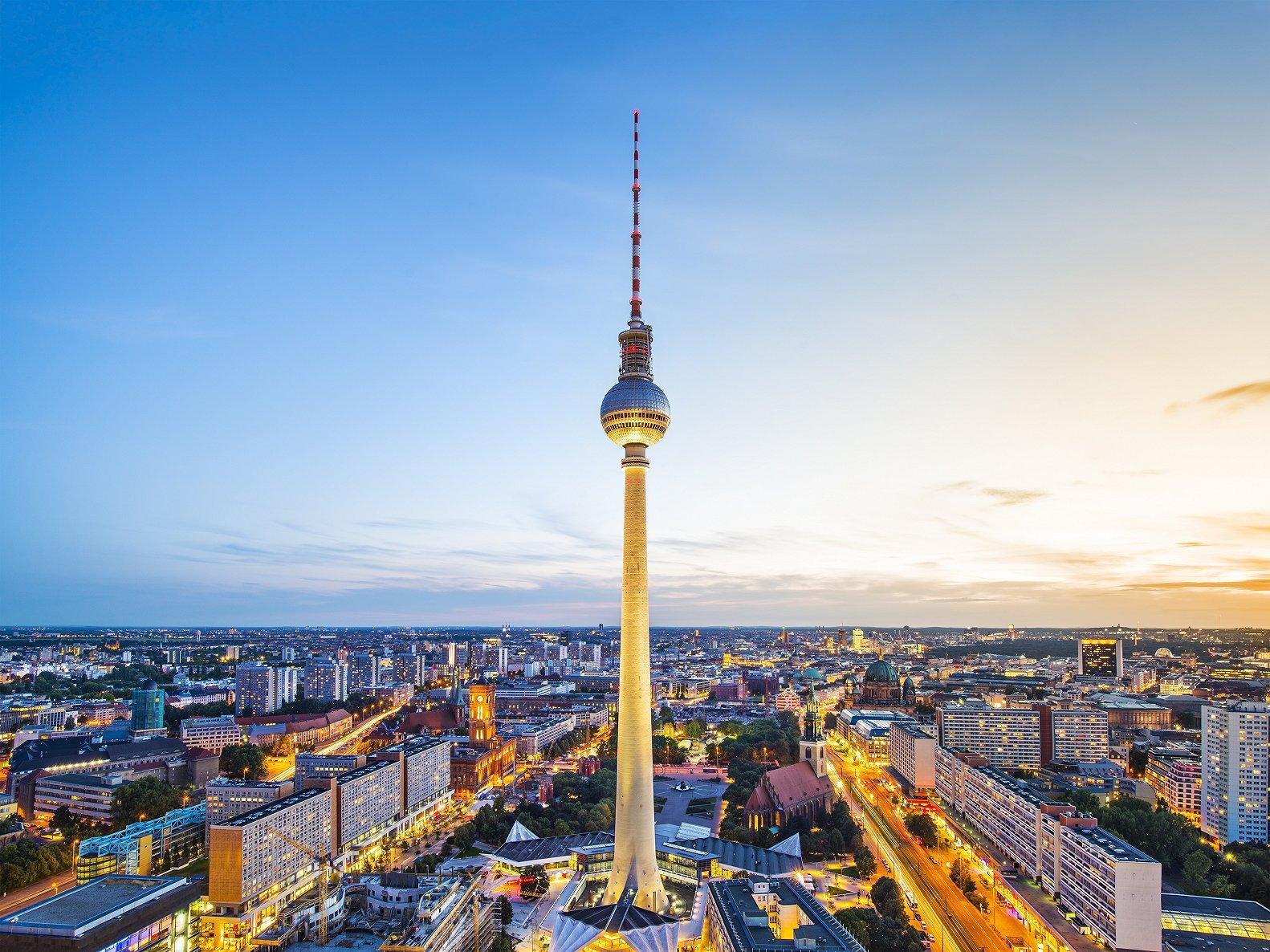 柏林电视塔  Berliner Fernsehturm   -0