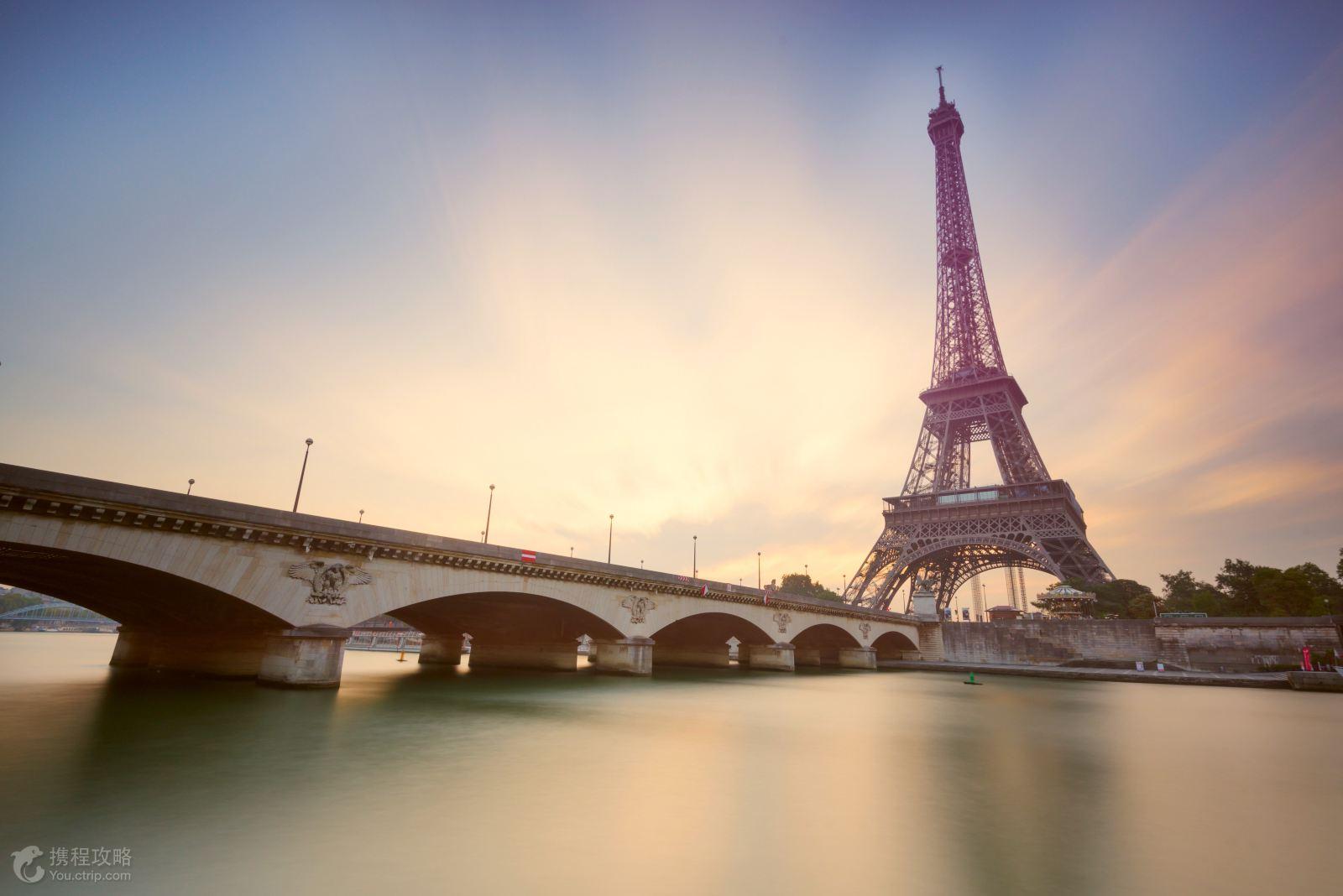 俯瞰浪漫之都巴黎全景 ·时尚购物·巴黎春天和老佛爷百货商厦,享受
