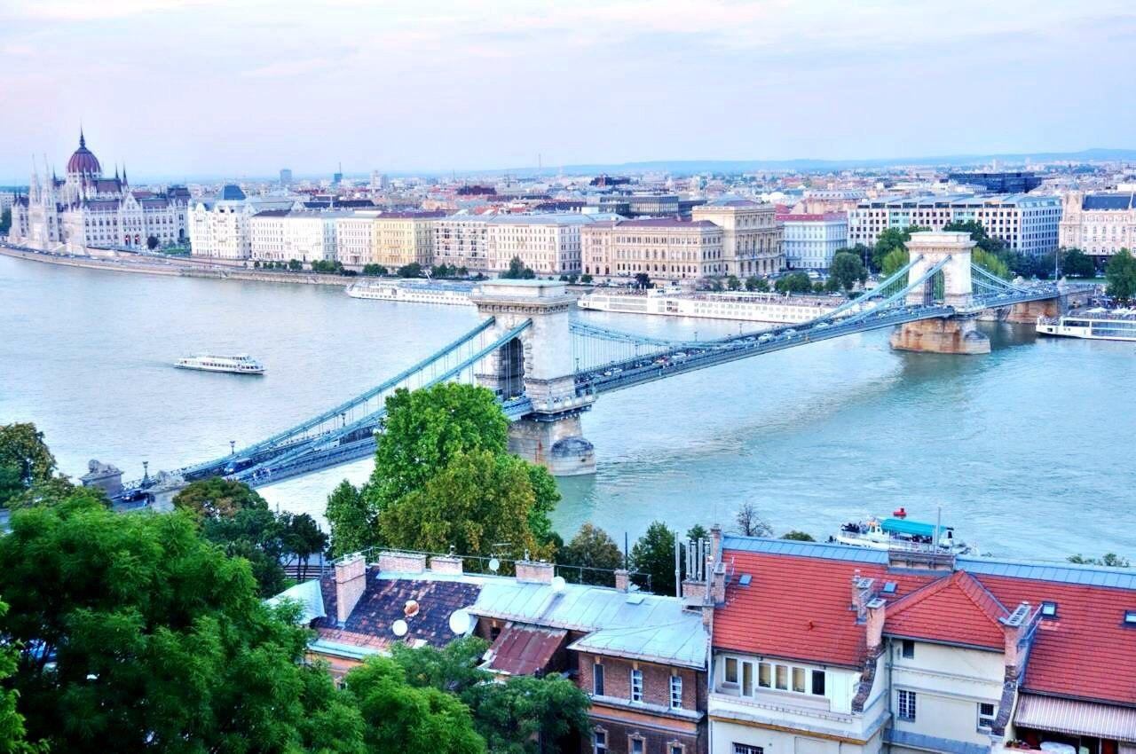 伊丽莎白桥  Erzsébet Híd   -2