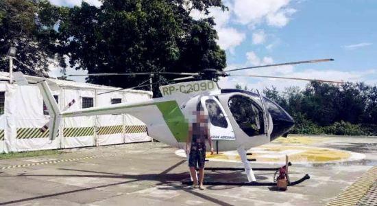 私人直升飞机体验