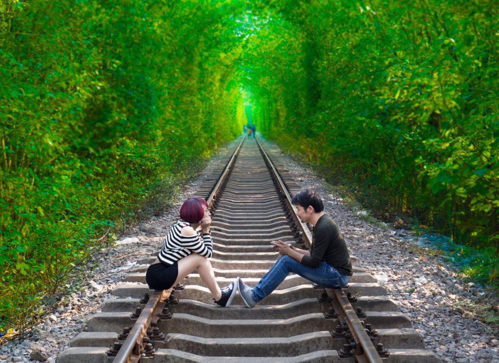 南京爱情隧道景-南京爱情隧道图片