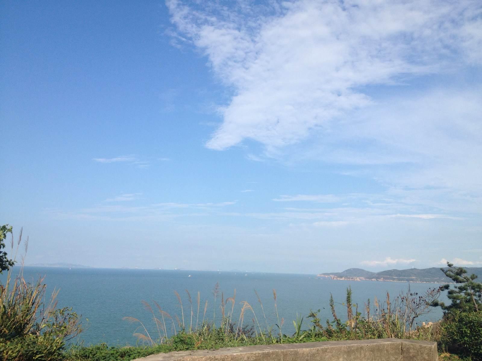 舟山嵊泗列岛 海边瑜珈之旅
