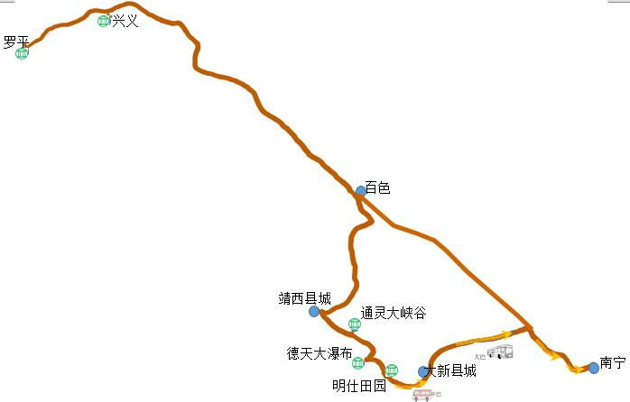 罗平县城内街道地图