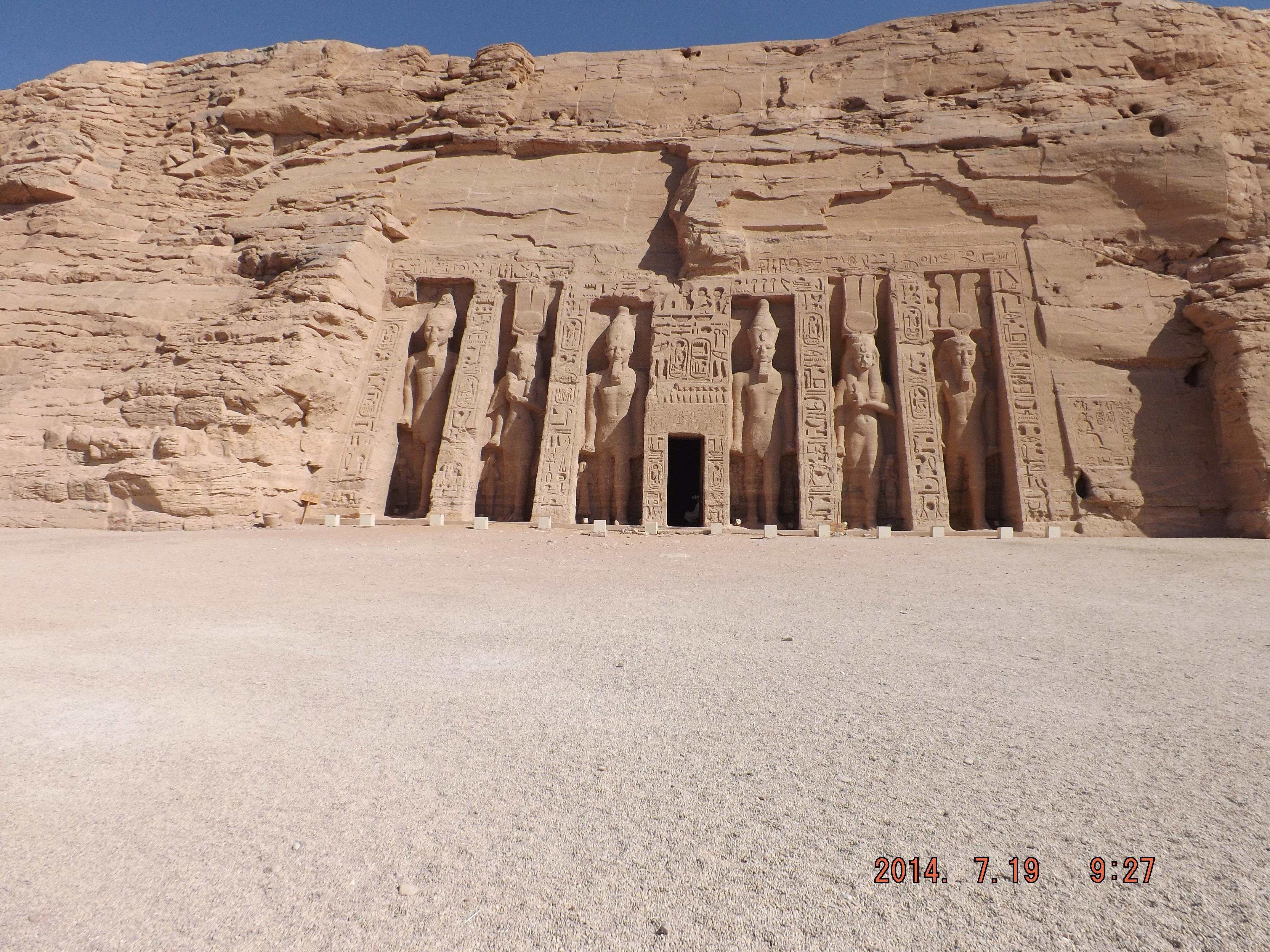 哈索尔神庙  Temple of Hathor   -2