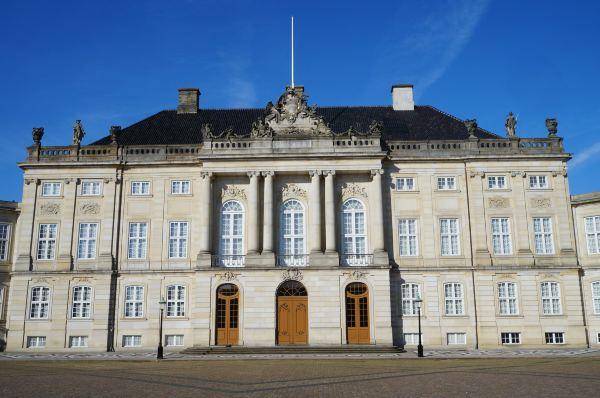 哥本哈根大理石教堂和洛森堡宫
