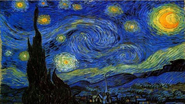 梵高 星空绘画步骤