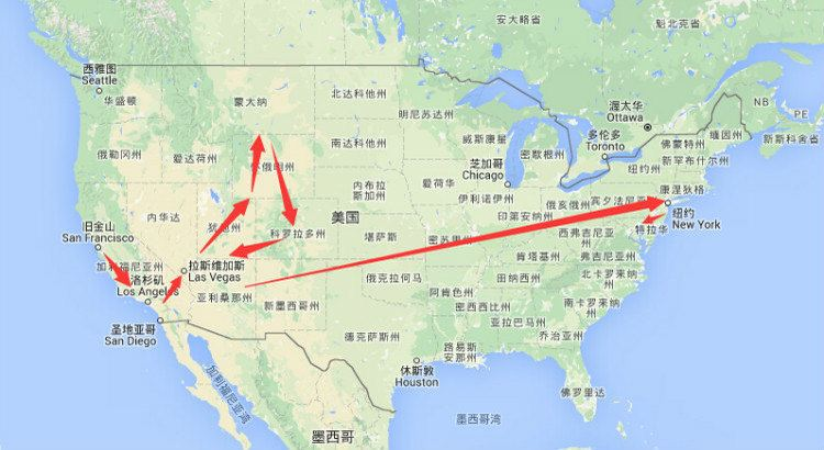 沉醉美西双城,自驾一号公路--19天环游美国