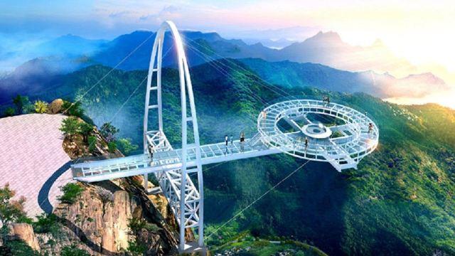石林峡一日游【登360度飞碟玻璃观景台 北京出发】