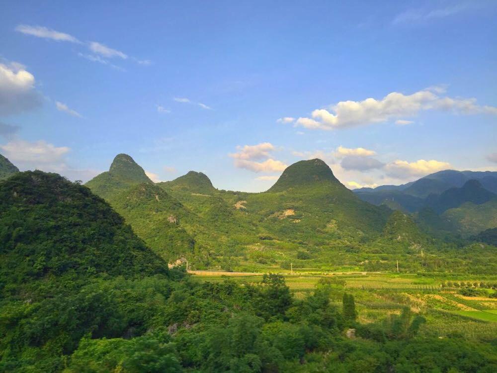 广州-贵阳 高铁上的风景也是很美