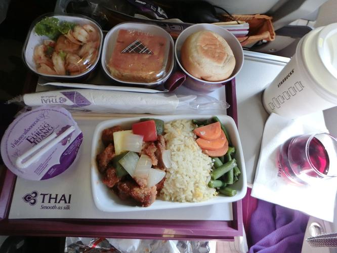 泰航的飞机餐