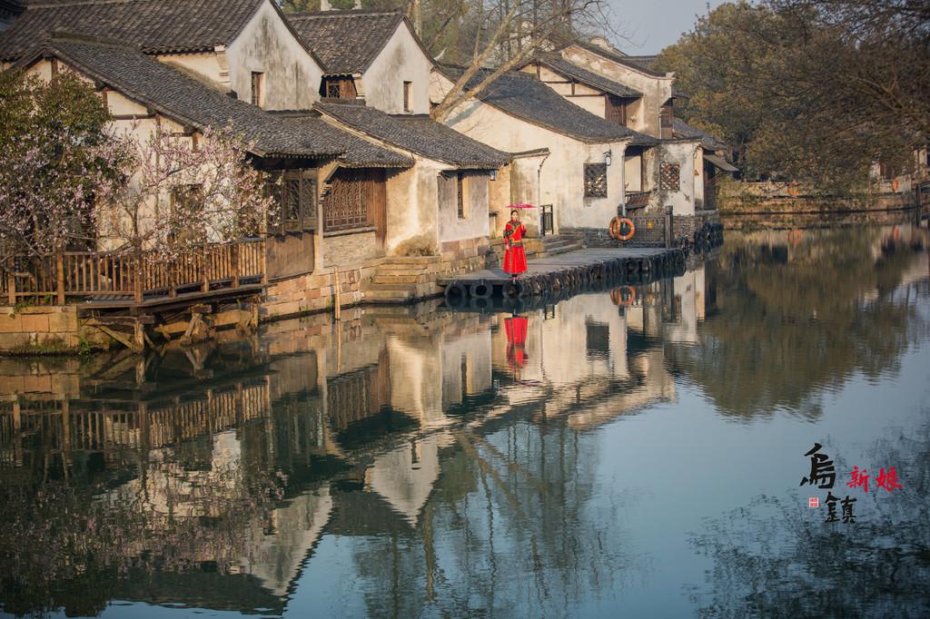 江南古风建筑图片素材