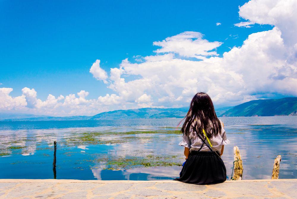 游记手绘古典美女图片在远方跟我一起去v游记丽江大理-大理攻略美女碧波妹子动漫丝袜图片