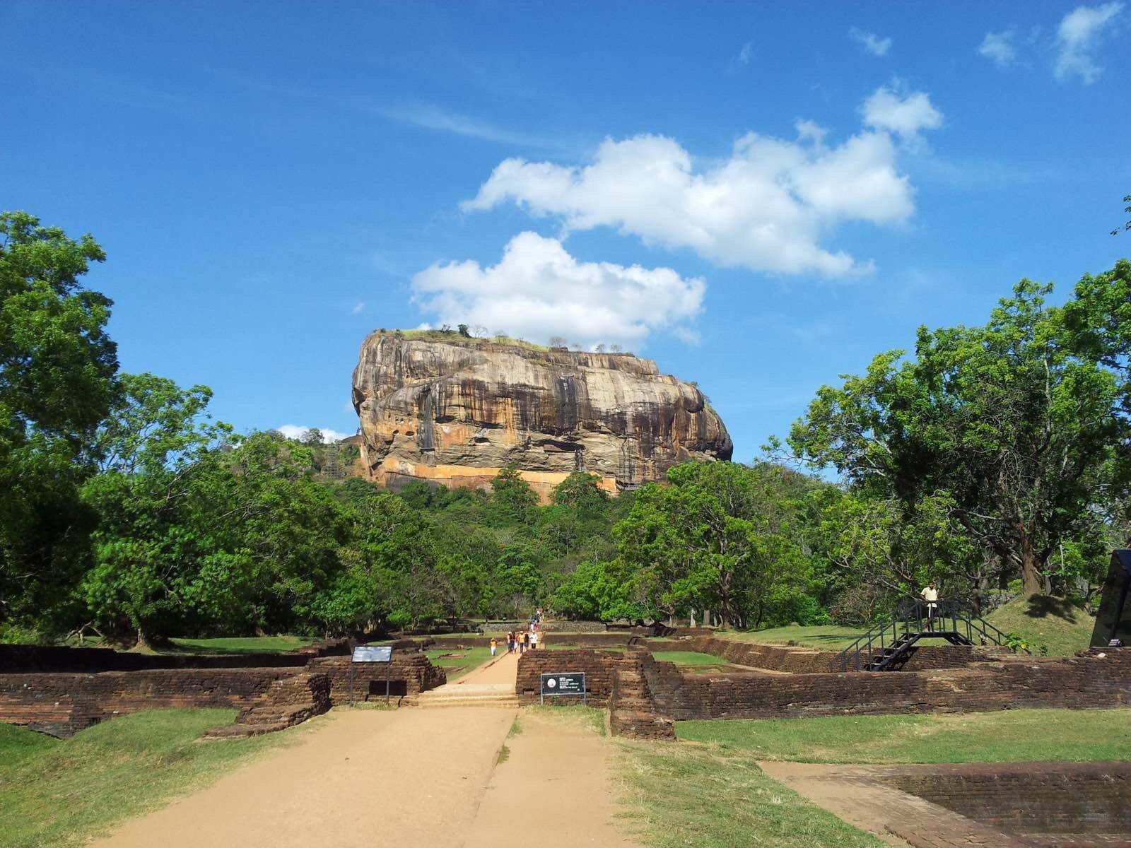狮子岩  Sigiriya Lion Rock   -1