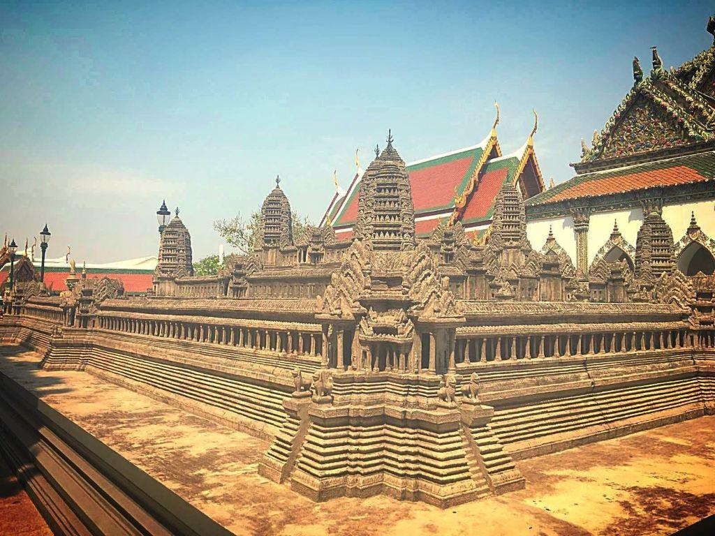 泰国宫廷背景素材