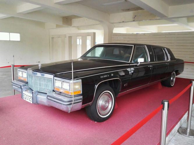 宋美龄曾经的座驾,1988年产的定制凯迪拉克