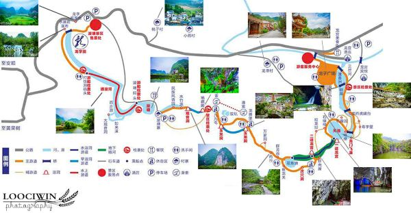 贵州美食手绘地图