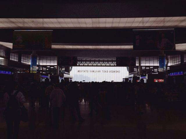 成都东站建得好像飞机场