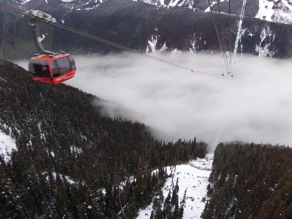 黑梳山纜車  Blackcomb Glacier peak-to-peak Gondola   -2