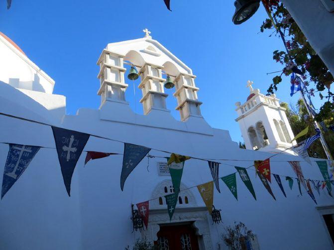 希腊旅行日记10 -米克诺斯岛