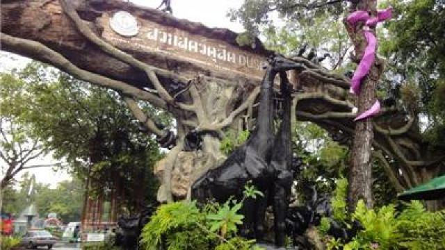 律实动物园为泰国最大的动物园