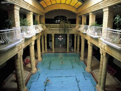盖勒特温泉  Gellert thermal baths   -2