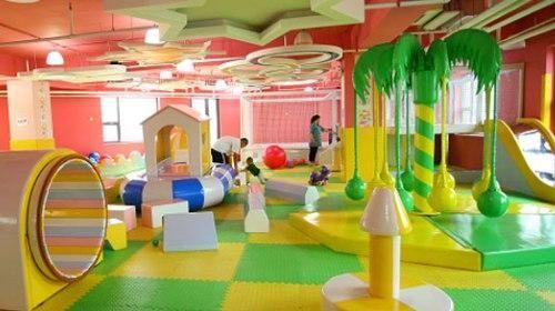 5 yoyopark儿童游乐园是专为0-8岁儿童量身设计的室内游乐园,其核心的