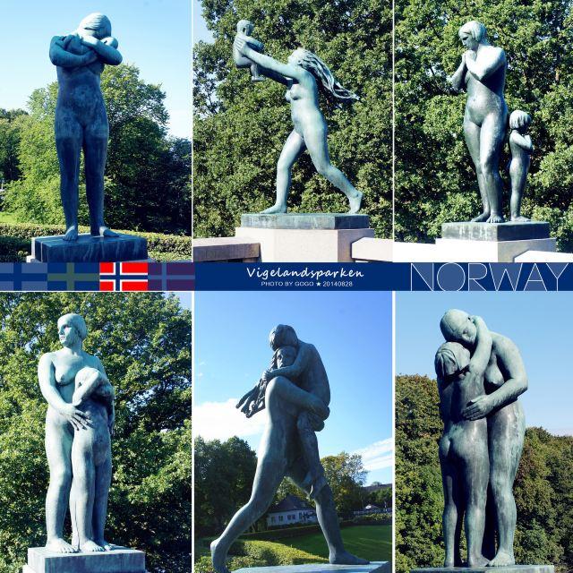 这组反映日常生活的58座青铜雕像中,塑造了许多青年男女和儿童.