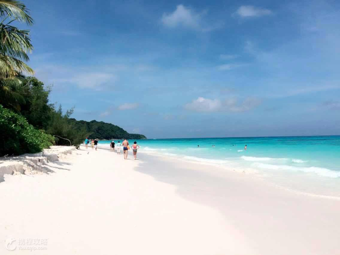 斯米兰群岛+普吉岛+甲米+泰国7日5晚跟团游·天堂