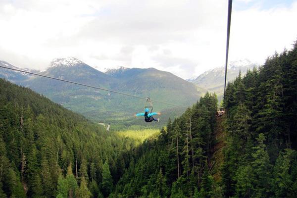 黑梳山纜車  Blackcomb Glacier peak-to-peak Gondola   -1