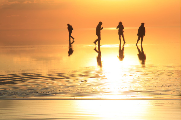 烏尤尼鹽湖  Uyuni Salt Flat   -2
