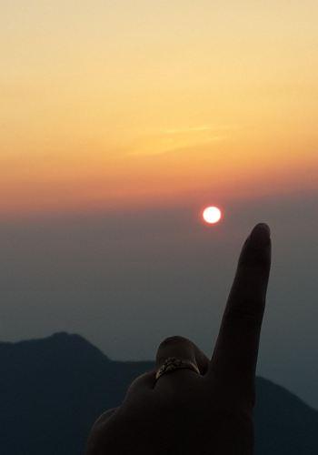 南岳衡山旅游帐篷,搭攻略上祝融峰观景台看夕昌邑青山秀水旅游攻略图片