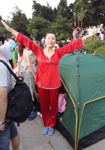 衡山南岳v帐篷帐篷,搭攻略上祝融峰观景台看夕地狱边境攻略攻图片
