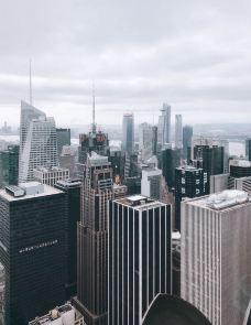 洛克菲勒中心-纽约-hiluoling