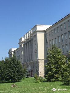 Administration Building of Omsk Railway-鄂木斯克