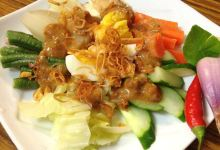 雅加达美食图片-杂拌什锦菜