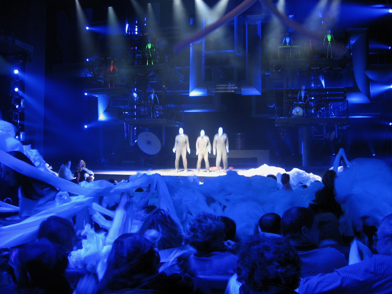 芝加哥石楠街劇院《藍人秀》門票